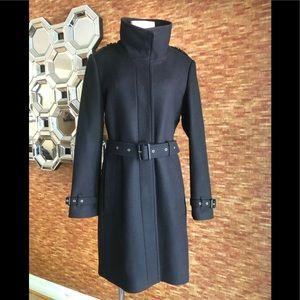 Burberry wool coat size 12